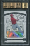 2009 Bowman Sterling Prospects #MT Mike Trout Rookie Auto BGS 9.5