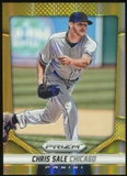 2014 Panini Prizm Prizms Gold #115 Chris Sale 4/10