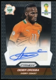 2014 Panini Prizm World Cup Signatures #SDD Didier Drogba Autograph