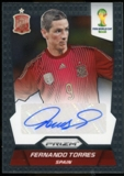 2014 Panini Prizm World Cup Signatures #SFT Fernando Torres Autograph