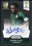 2014 Panini Prizm World Cup Signatures #SSE Samuel Eto'o Autograph