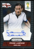 2014 Panini Prizm World Cup Signatures #SFL Frank Lampard Autograph