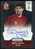 2014 Panini Prizm World Cup Signatures #SDC Diego Costa Autograph