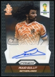 2014 Panini Prizm World Cup Signatures #SRG Ruud Gullit Autograph