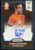 2014 Panini Prizm World Cup Signatures #SRVP Robin van Persie Autograph