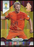 2014 Panini Prizm World Cup Prizms Gold #34 Dirk Kuyt 8/10