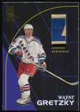 1998/99 Be A Player All-Star Game Used Sticks #S23 Wayne Gretzky 2 Color Stick