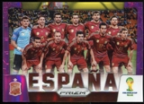 2014 Panini Prizm World Cup Team Photos Prizms Purple #29 Espana /99