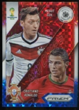 2014 Panini Prizm World Cup World Cup Matchups Prizms Red White and Blue #15 Mesut Ozil Cristiano Ronaldo