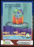 2014 Panini Prizm World Cup World Cup Posters Prizms Blue and Red Wave #5 Fortaleza