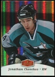 2006/07 Upper Deck Flair Showcase #261 Jonathan Cheechoo SP