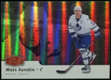 2006/07 Upper Deck Flair Showcase #298 Mats Sundin SP