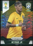 2014 Panini Prizm World Cup Prizms Yellow and Red Pulsar #112 Neymar