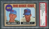 1968 Topps Baseball #177 Nolan Ryan Rookie PSA 7 (NM) *6461