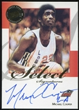 2008/09 Press Pass Legends Select Signatures #MC Michael Cooper Autograph