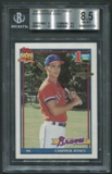 1991 Topps Desert Shield #333 Chipper Jones Rookie BGS 8.5 (NM-MT+) *7573