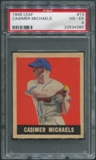 1948 Leaf Baseball #13 Casimer Michaels PSA 4 (VG-EX) *4360