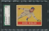 1948 Leaf Baseball #143 Dick Sisler SGC 10 1 (POOR) *5155