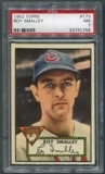 1952 Topps Baseball #173 Roy Smalley PSA 7 (NM) *1758