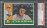 1960 Topps Baseball #250 Stan Musial PSA 8 (NM-MT) *5337