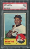 1963 Topps Baseball #300 Willie Mays PSA 7.5 (NM+) *3891