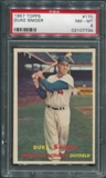 1957 Topps Baseball #170 Duke Snider PSA 8 (NM-MT) *7734