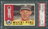 1960 Topps Baseball #35 Whitey Ford PSA 8 (NM-MT) *6792