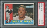 1960 Topps Baseball #200 Willie Mays PSA 8 (NM-MT) *0068