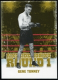 2010 Ringside Boxing Round One Gold #18 Gene Tunney