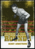 2010 Ringside Boxing Round One Gold #22 Henry Armstrong