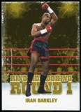 2010 Ringside Boxing Round One Gold #23 Iran Barkley