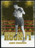 2010 Ringside Boxing Round One Gold #26 James Braddock