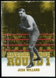 2010 Ringside Boxing Round One Gold #32 Jess Willard