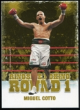 2010 Ringside Boxing Round One Gold #36 Miguel Cotto