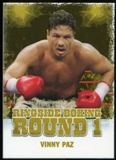 2010 Ringside Boxing Round One Gold #49 Vinny Paz