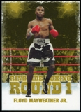 2010 Ringside Boxing Round One Gold #17 Floyd Mayweather Jr.