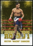 2010 Ringside Boxing Round One Gold #21 Hector Macho Camacho