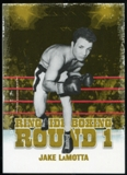 2010 Ringside Boxing Round One Gold #25 Jake LaMotta