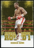 2010 Ringside Boxing Round One Gold #42 Riddick Bowe