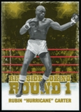 2010 Ringside Boxing Round One Gold #45 Rubin Hurricane Carter