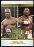 2010 Ringside Boxing Round One Gold #61 Mike Tyson/Lennox Lewis