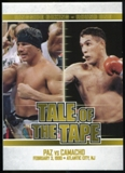 2010 Ringside Boxing Round One Gold #65 Vinny Paz/Hector Camacho