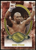2010 Ringside Boxing Round One Gold #83 Mike Tyson