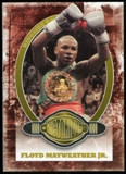 2010 Ringside Boxing Round One Gold #86 Floyd Mayweather Jr.