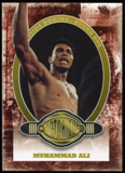 2010 Ringside Boxing Round One Gold #100 Muhammad Ali