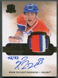 2011/12 The Cup #180 Ryan Nugent-Hopkins Gold Rainbow Rookie Patch Auto #42/93