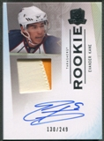2009/10 The Cup #133 Evander Kane Rookie Patch Auto #130/249