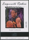 2009/10 Exquisite Collection #65 DeMar DeRozan Rookie #188/225