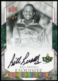 2012/13 Upper Deck Exquisite Collection Endorsements Gold Spectrum #BR Bill Russell 1/1