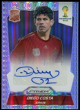 2014 Panini Prizm World Cup Signatures Prizms #SDC Diego Costa 14/25